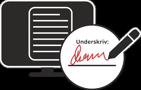 SIKKERMAIL indeholder mulighed for digital forsegling og signatur