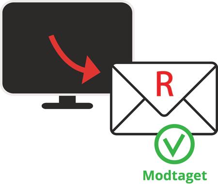 SIKKERMAIL tilbyder et billigere alternativ til det anbefalede eller rekommanderede brev